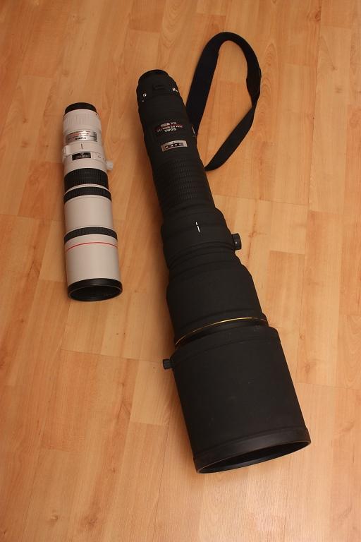sigma 800/5.6 vs canon 400/5.6