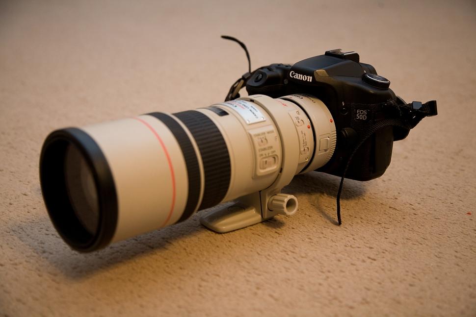 Canon 50D s telekonvertorom